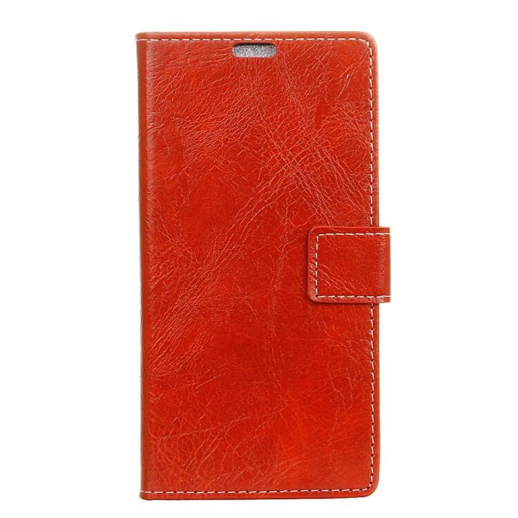 FORCELL RETRO Peňaženkový obal Sony Xperia 10 červený