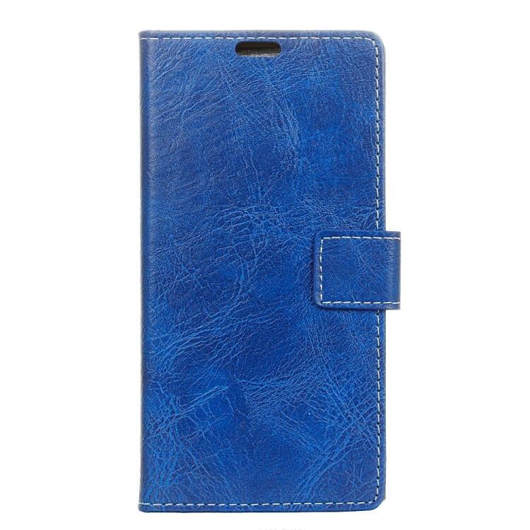 FORCELL RETRO Peňaženkový obal Sony Xperia 10 modrý