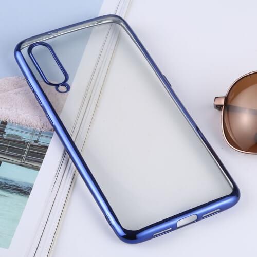 FORCELL METALLIC Silikónový kryt Xiaomi Mi 9 modrý