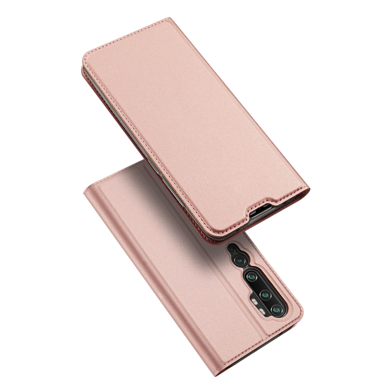 DUX Peňaženkový obal Xiaomi Mi Note 10 / Note 10 Pro růžový