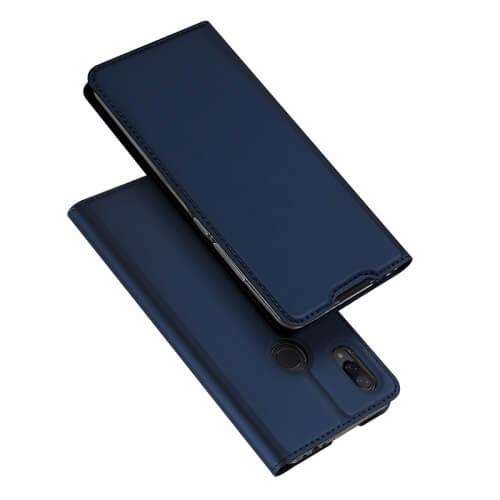 DUX Peňaženkový obal Xiaomi Redmi 7 modrý