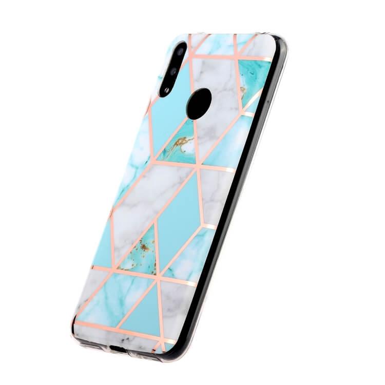 FORCELL ART TPU Ochranný kryt Huawei Y6 2019 BLUE GREEN