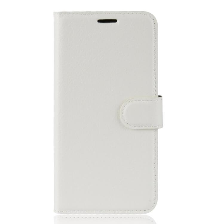 FORCELL Litchi Peňaženkové pouzdro Asus Zenfone Max (M1) ZB555KL bílé