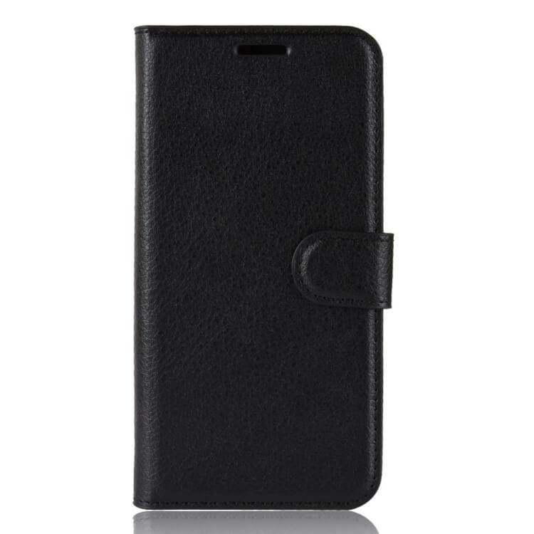 FORCELL Litchi Peňaženkové pouzdro Asus Zenfone Max (M1) ZB555KLOne Zoom černé