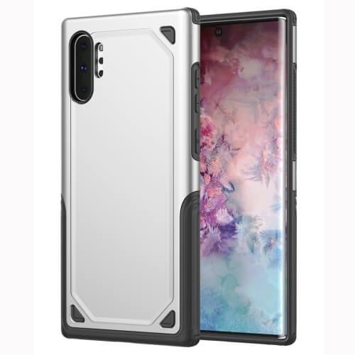 FORCELL SHOCKPROOF Ochranný kryt Samsung Galaxy Note 10+ stříbrný