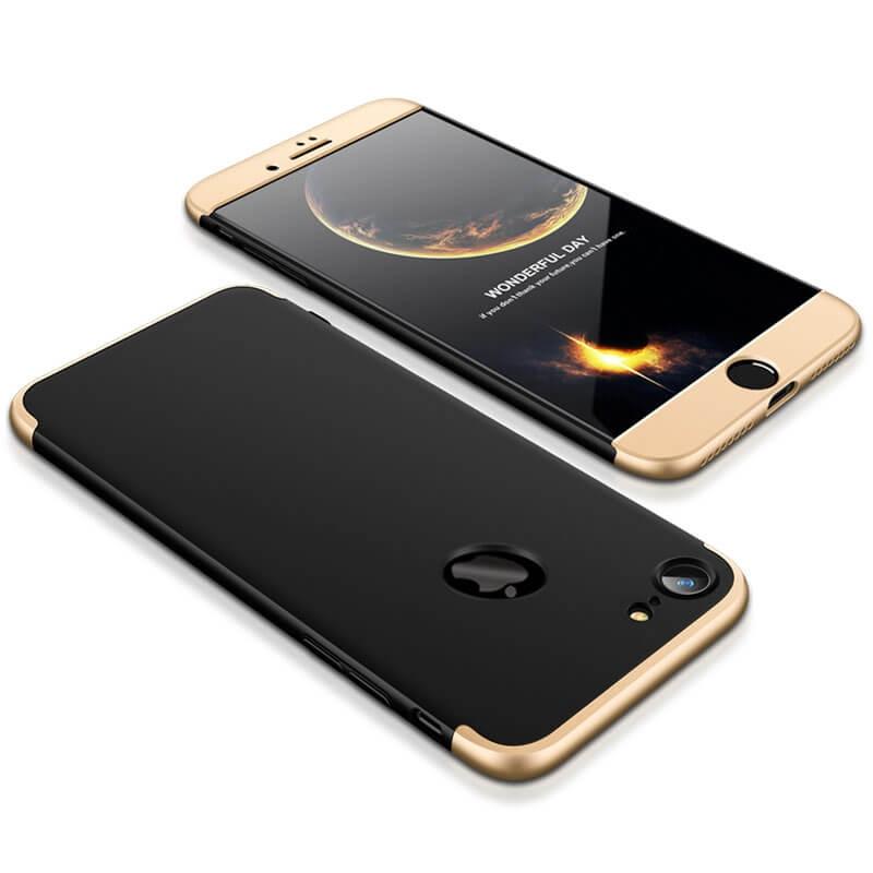 FORCELL 360 ° Ochranný obal Apple iPhone 6   6S černo-zlatý c7fb90b7626