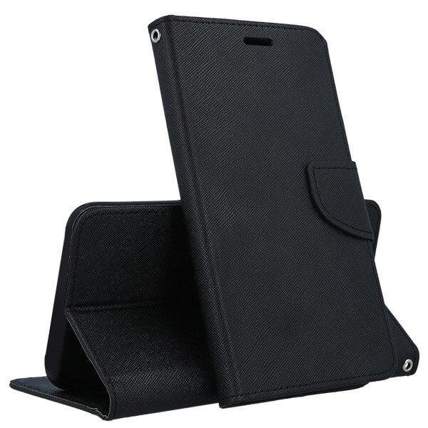 FORCELL FANCY Peňaženkový kryt Huawei P20 Lite černý
