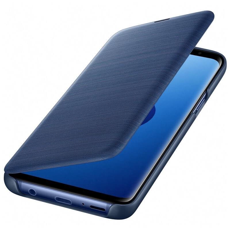 SAMSUNG LED VIEW (EF-NG960PLEGWW) Samsung Galaxy S9 modrý