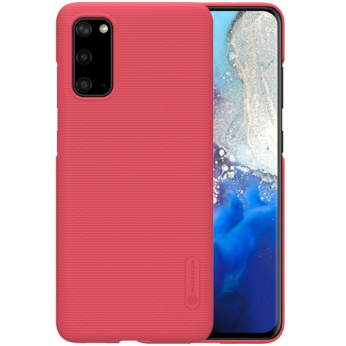 NILLKIN FROSTED Samsung Galaxy S20 červený