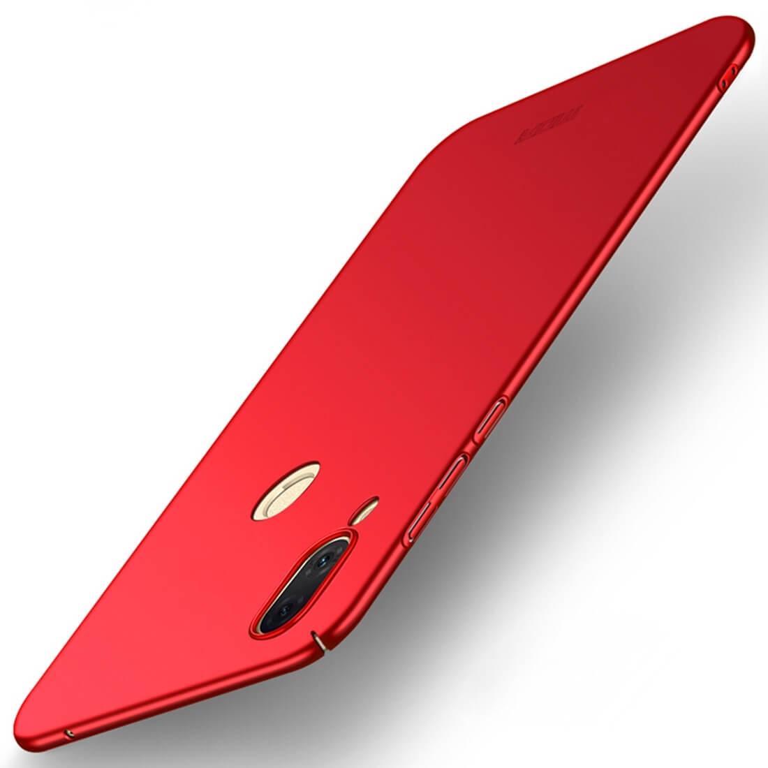 MOFI Ultratenký obal Huawei Nova 3 červený