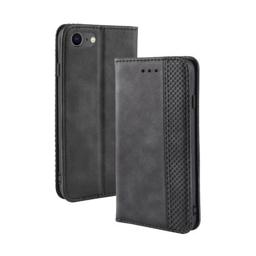 FORCELL BUSINESS Peňaženkový kryt Apple iPhone SE 2020 černý
