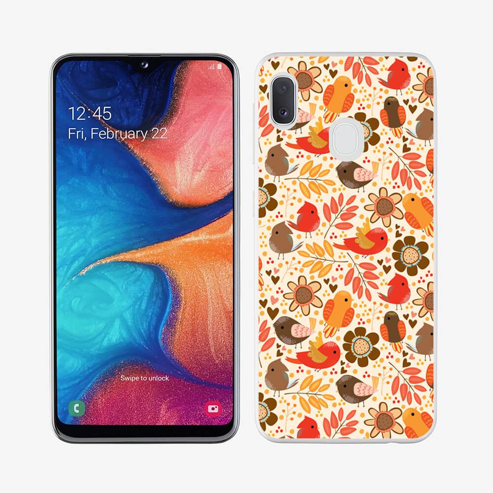 FORCELL MY ART Ochranný obal Samsung Galaxy A40 BIRDS