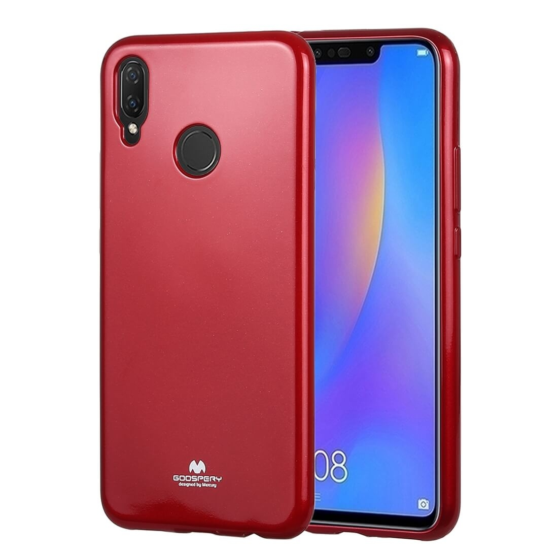 MERCURY I-JELLY Obal Huawei Nova 3i (P Smart Plus) červený