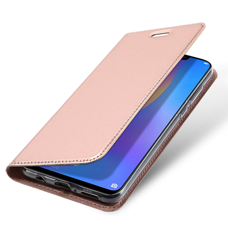 DUX Peňaženkové pouzdro Huawei Nova 3i (P Smart Plus) růžové