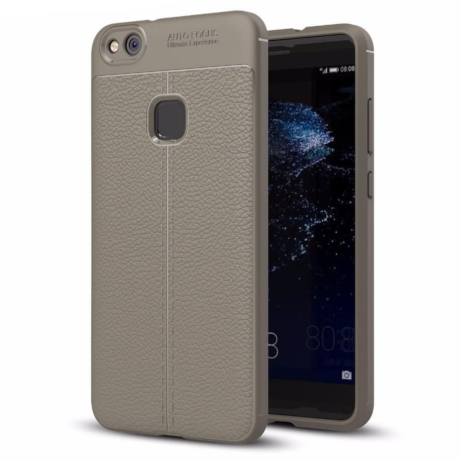 FORCELL PATTERN TPU obal Huawei P10 Lite šedý