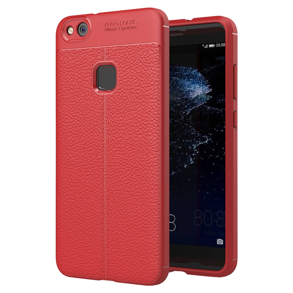 FORCELL PATTERN TPU obal Huawei P10 Lite červený