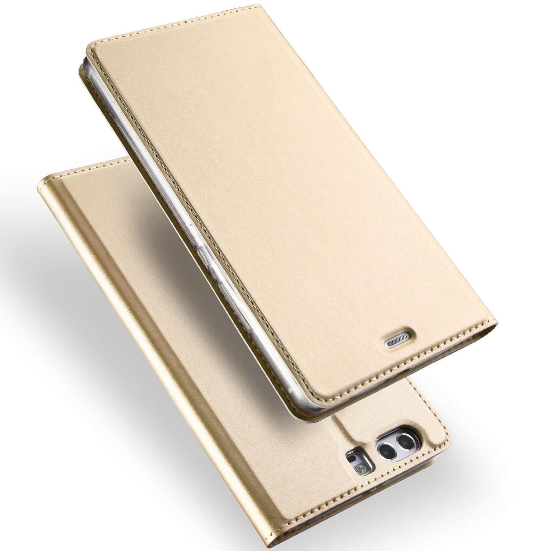 DUX flipové pouzdro Huawei P10 Plus zlaté