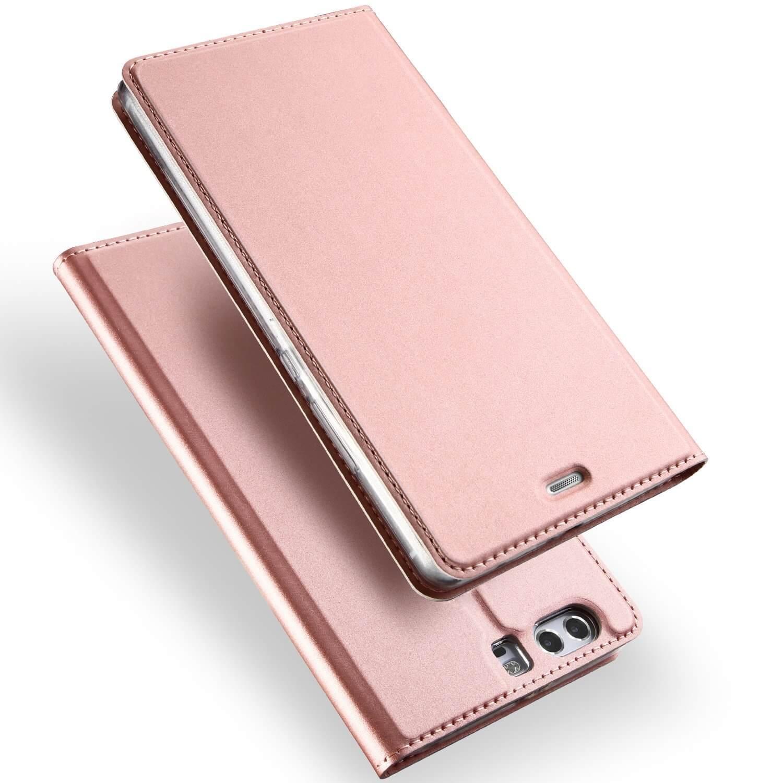 DUX flipové pouzdro Huawei P10 Plus růžové