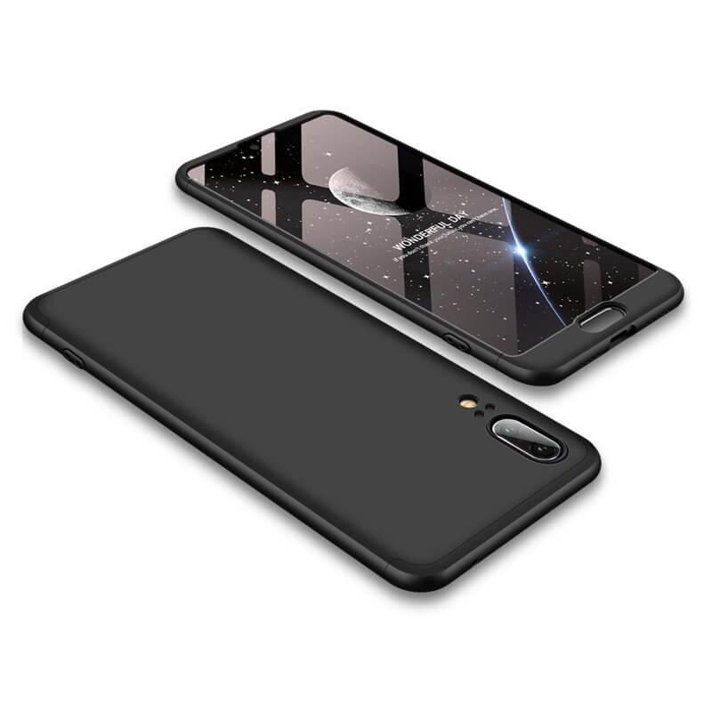 FORCELL 360 ° kryt Huawei P20 černý