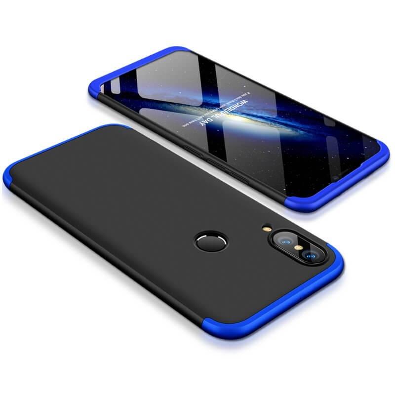FORCELL 360 ° kryt Huawei P20 Lite černý (modrý)