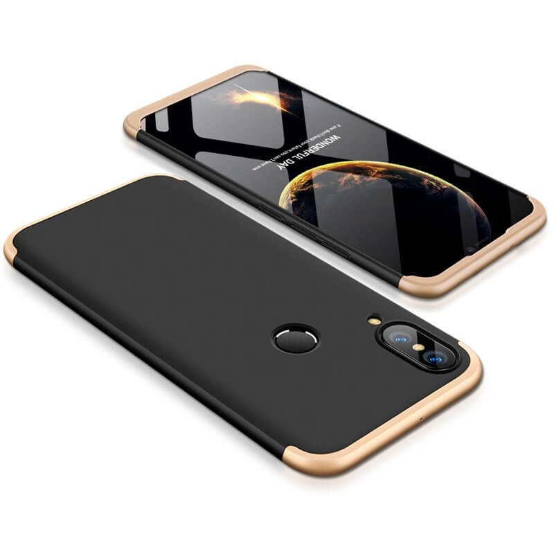 FORCELL 360 ° kryt Huawei P20 černý (zlatý)