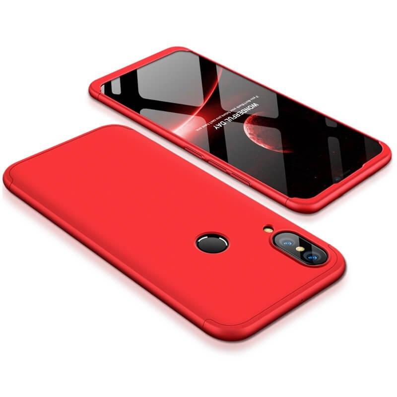 FORCELL 360 ° kryt Huawei P20 Lite červený 22ba7c396bd