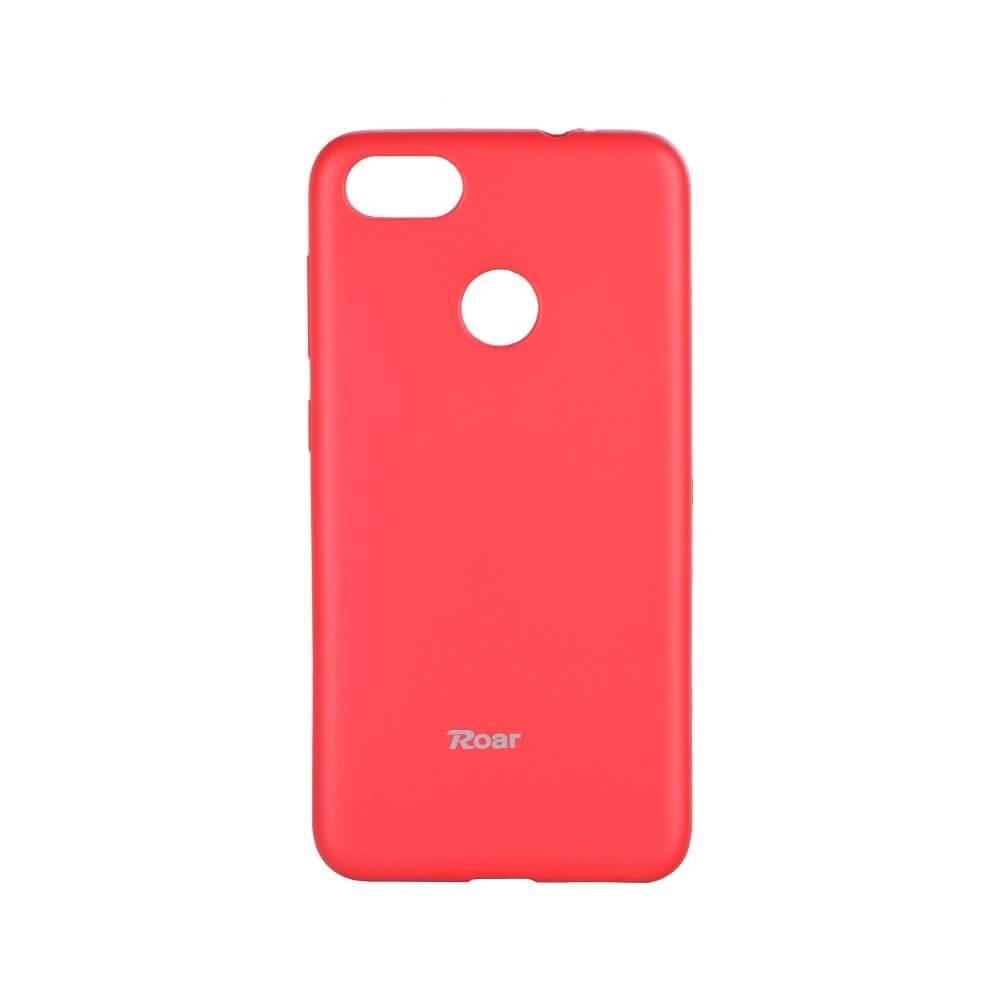 ROAR COLORFUL TPU Obal Huawei P9 Lite Mini ružový (hot)