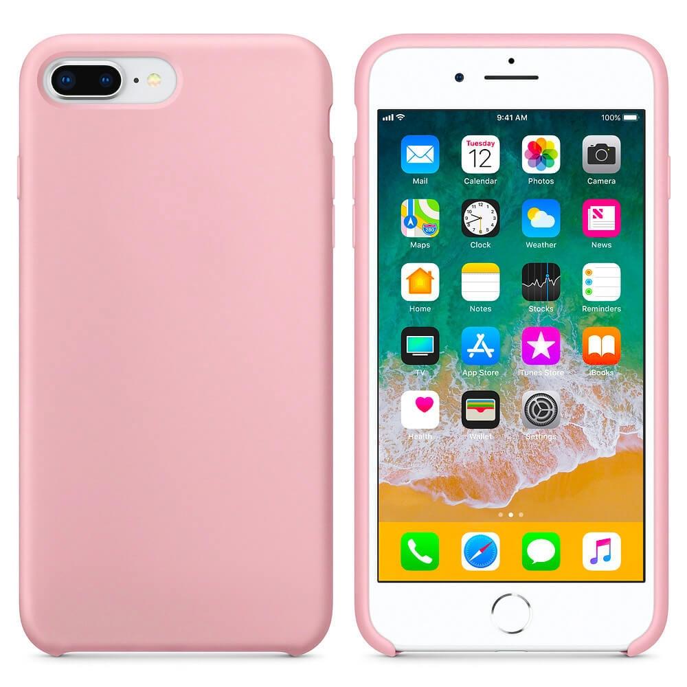 FORCELL RUBBER Pryžový kryt Apple iPhone 7 Plus   iPhone 8 Plus růžový c51d91e1d44