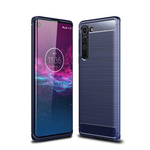 FORCELL FLEXI TPU Kryt Motorola Moto Edge modrý