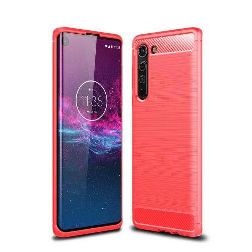 FORCELL FLEXI TPU Kryt Motorola Moto Edge červený