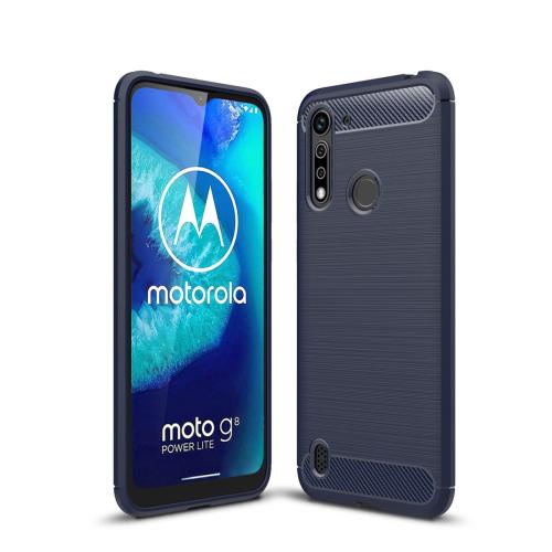 FORCELL FLEXI TPU Ochranný kryt Motorola Moto G8 Power Lite modrý