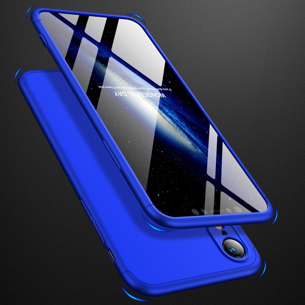 FORCELL 360° ochranný obal Apple iPhone XR modrý
