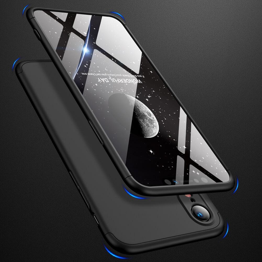 FORCELL 360° ochranný obal Apple iPhone XR černý