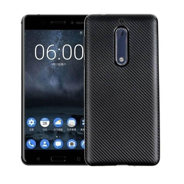 FORCELL FIBER Ochranný kryt Nokia 5 čierny