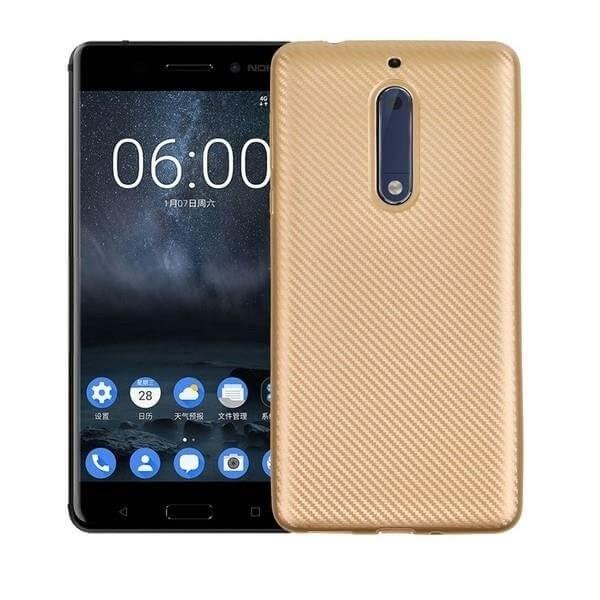 FORCELL FIBER Ochranný kryt Nokia 5 zlatý