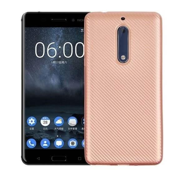 FORCELL FIBER Ochranný kryt Nokia 5 ružový