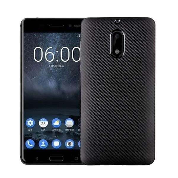 FORCELL FIBER Ochranný kryt Nokia 6 čierny
