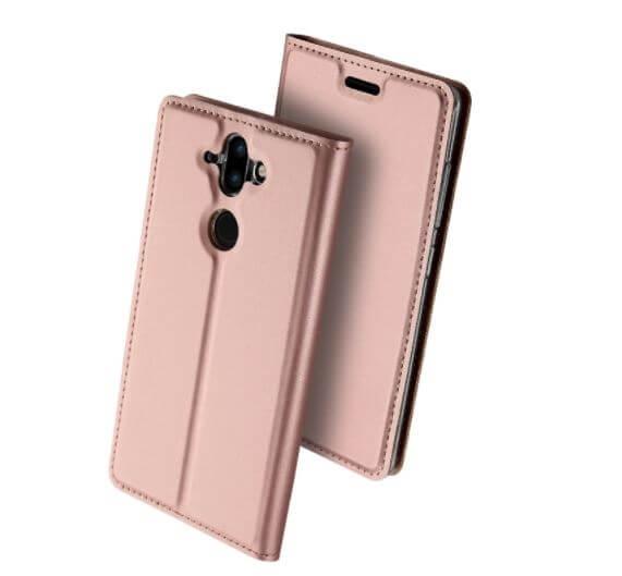 DUX Flipové púzdro Nokia 8 Sirocco / Nokia 9 ružové