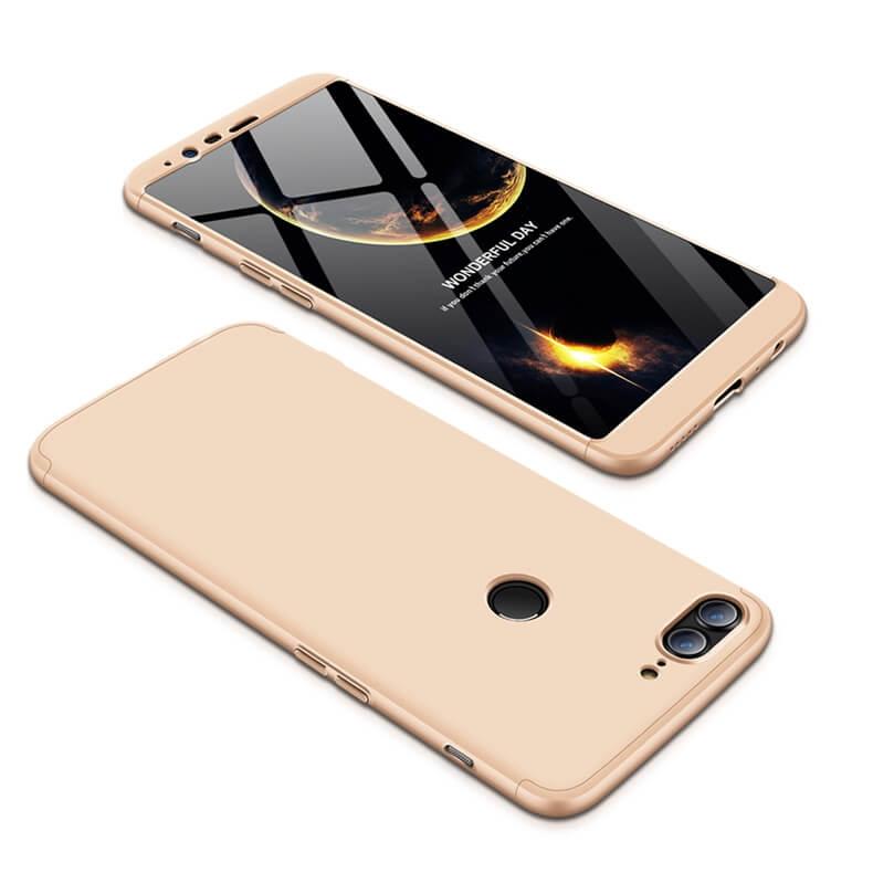 FORCELL 360 ° Ochranný kryt OnePlus 5T zlatý