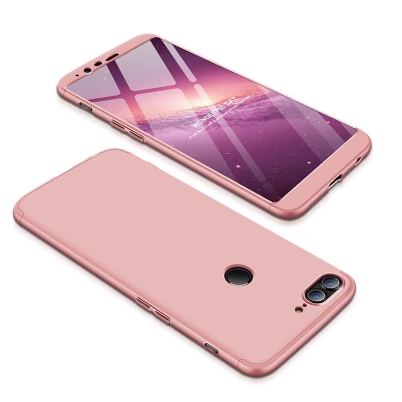 FORCELL 360 ° Ochranný kryt OnePlus 5T růžový