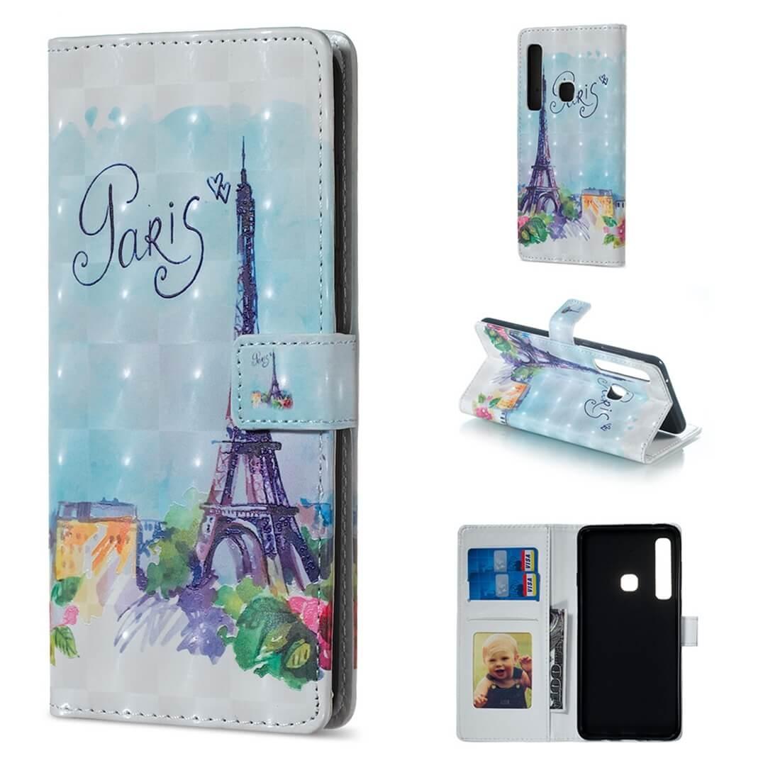 FORCELL ART Peňaženkový kryt Samsung Galaxy A9 2018 PARIS