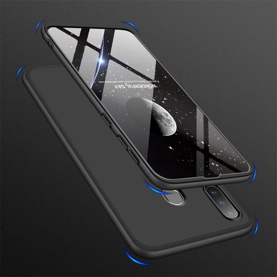 FORCELL 360 ° Ochranný obal Samsung Galaxy A30 černý