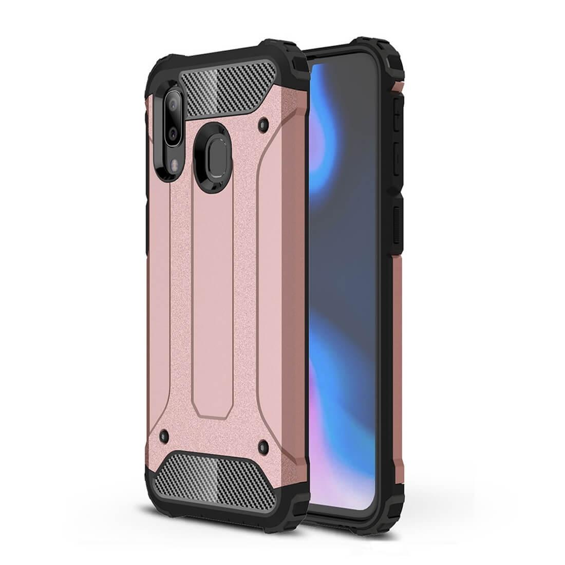 FORCELL TOUGH Ochranný kryt Samsung Galaxy A40 růžový