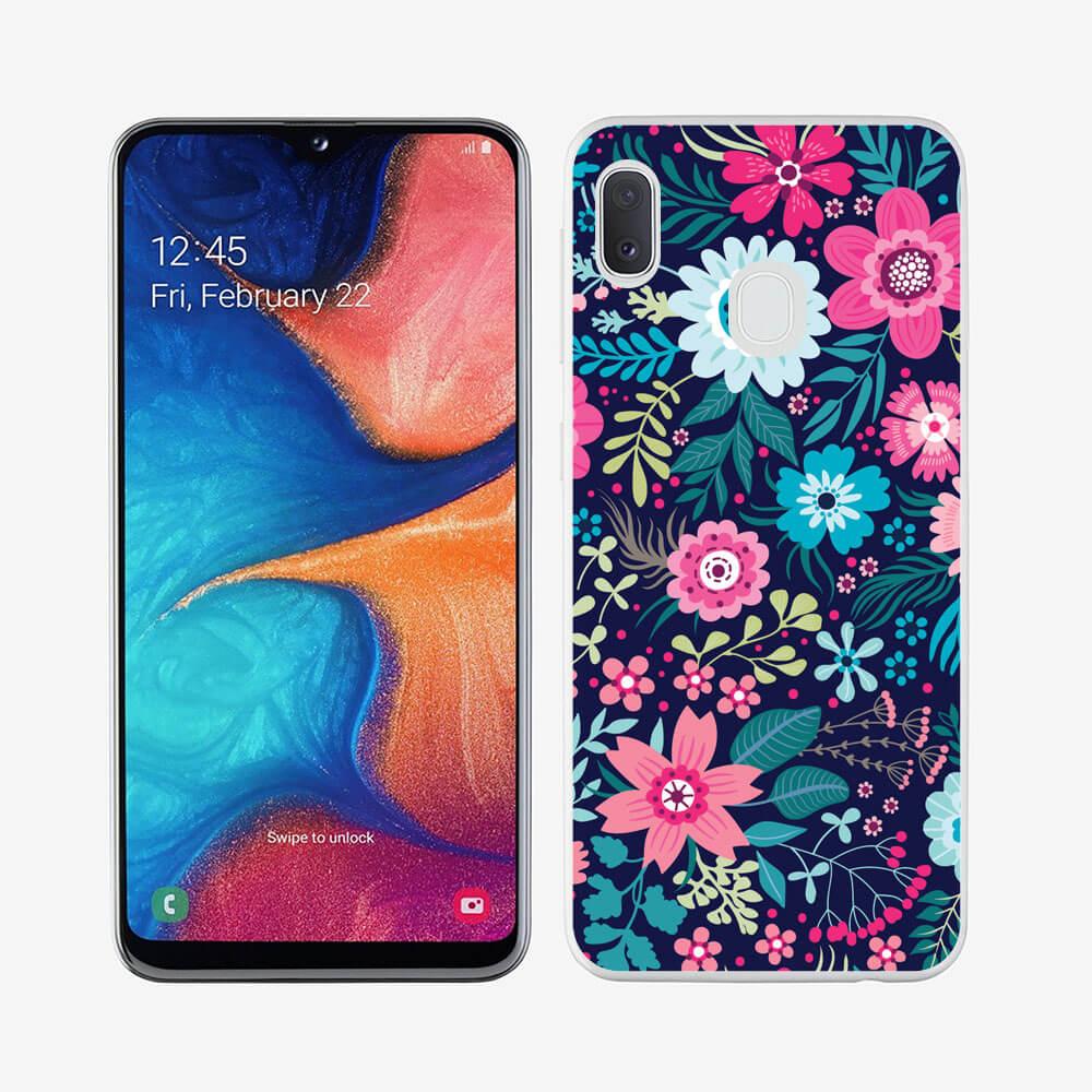 FORCELL MY ART Ochranný obal Samsung Galaxy A40 FLORA
