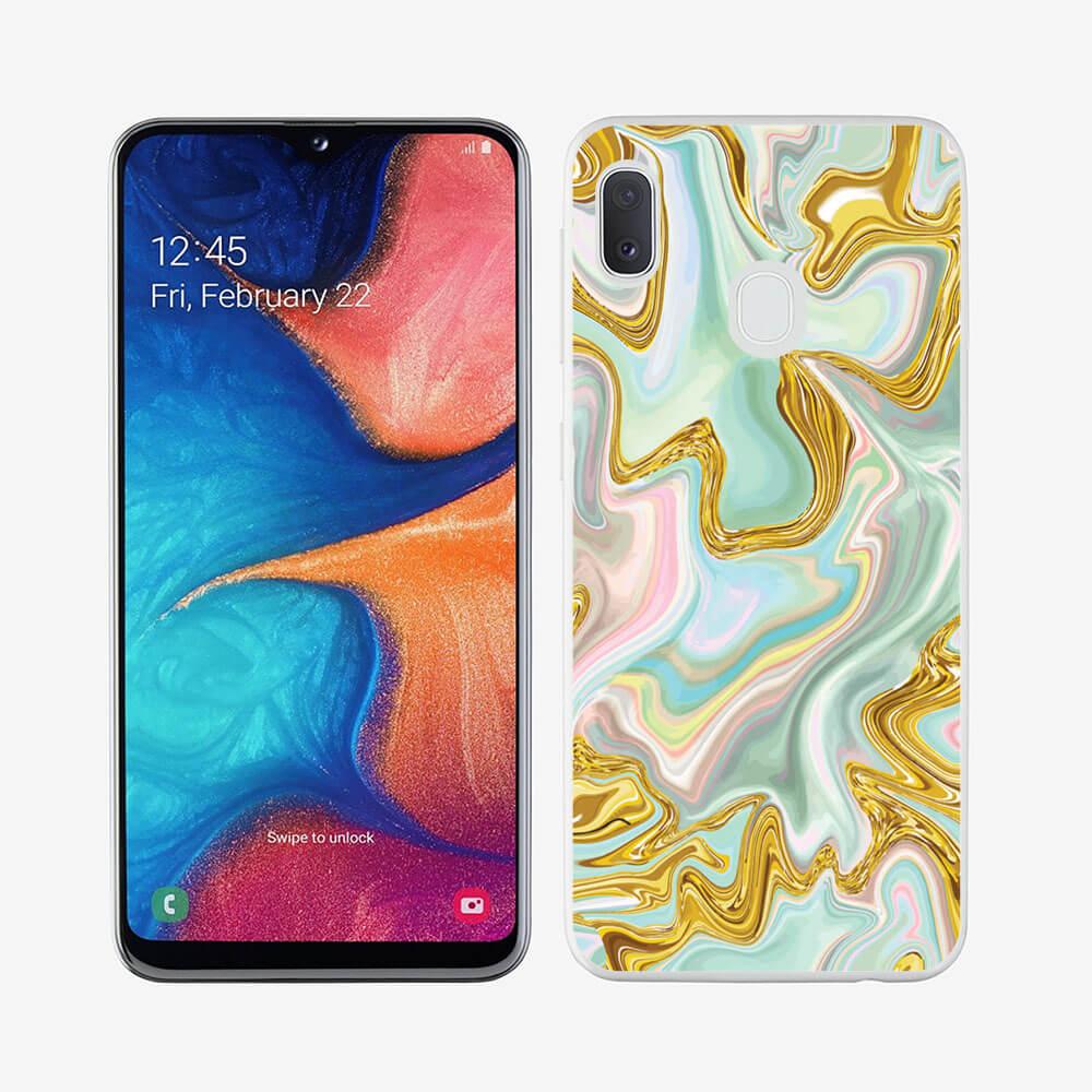 FORCELL MY ART Ochranný obal Samsung Galaxy A40 NEON