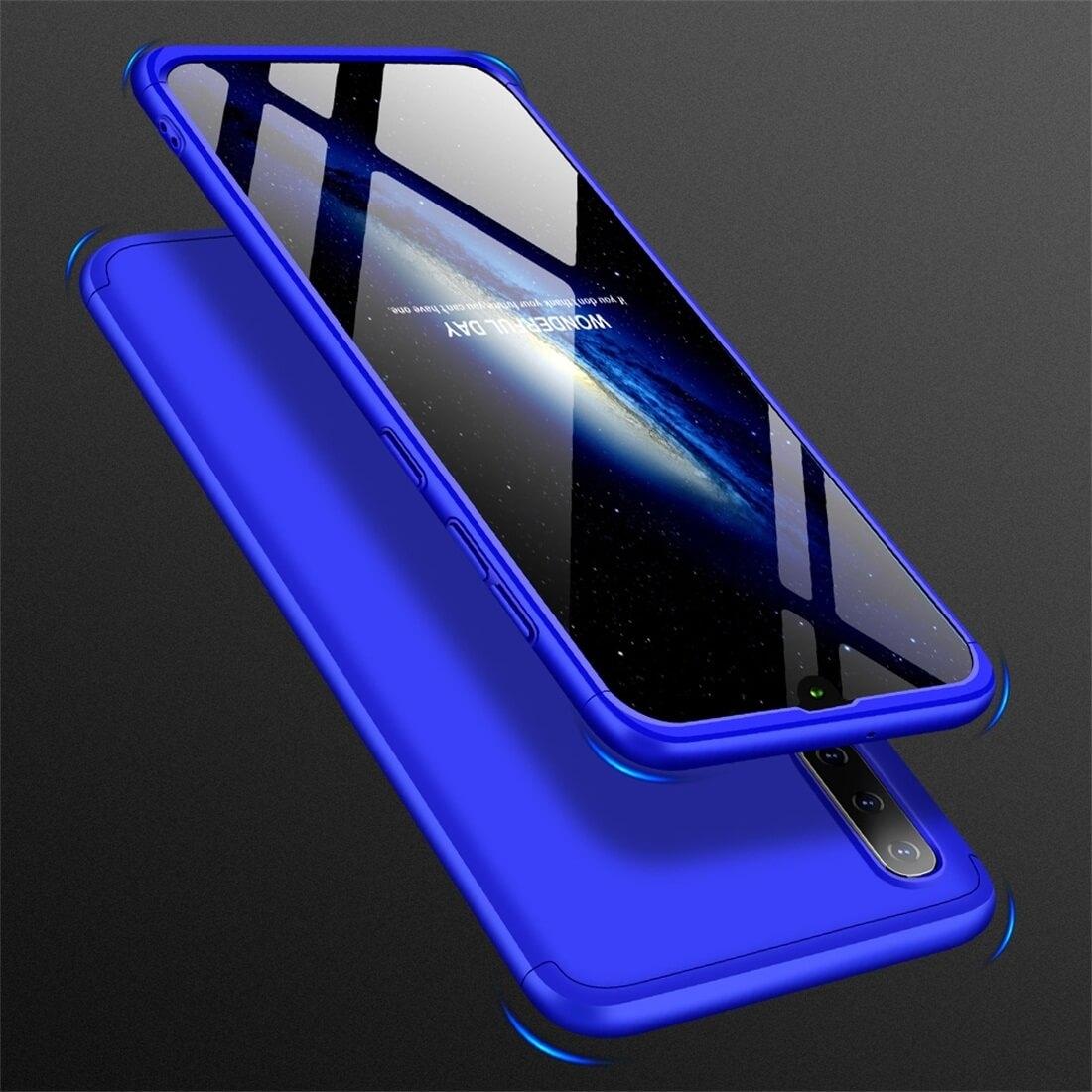 FORCELL 360 ° Ochranný obal Samsung Galaxy A50 modrý