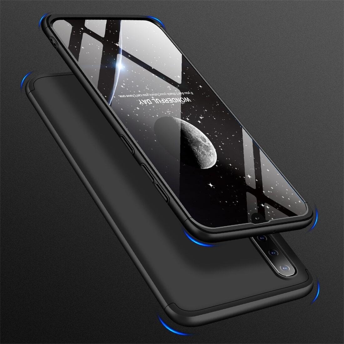FORCELL 360 ° Ochranný obal Samsung Galaxy A50 černý