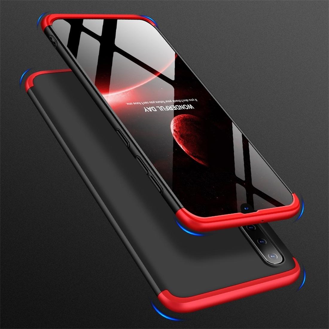 FORCELL 360 ° Ochranný obal Samsung Galaxy A50 černý-červený
