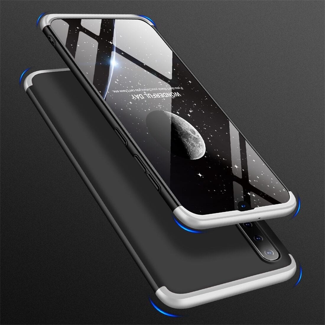 FORCELL 360 ° Ochranný obal Samsung Galaxy A50 růžový