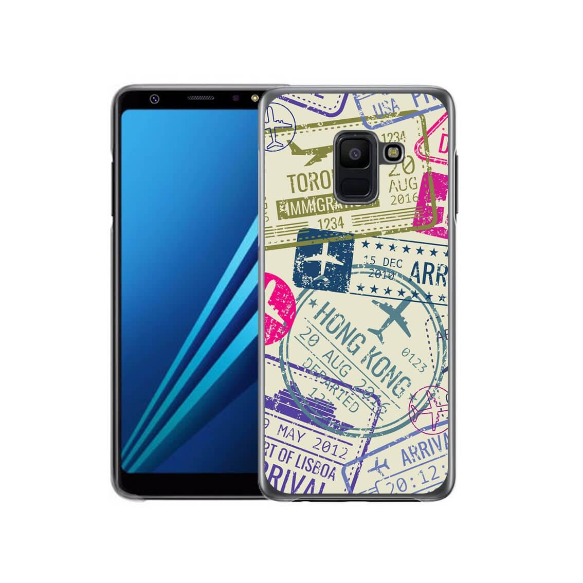 MY ART kryt Samsung Galaxy A6 (A600) STAMPS (011) c7f1306449f